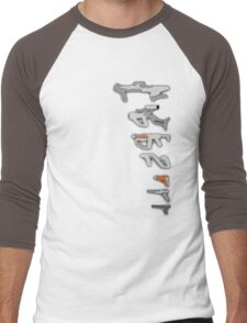 GunPlay Men's Baseball ¾ T-Shirt