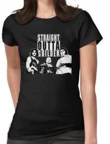 Straight Outta Guilder v2 Womens Fitted T-Shirt