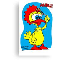 Rick the chick & Friends - Achille Canvas Print