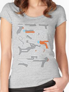 GunPlay Cluster Women's Fitted Scoop T-Shirt