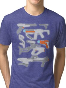 GunPlay Cluster Tri-blend T-Shirt