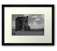 Flint Castle. North East tower. Framed Print