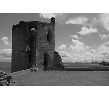 Flint Castle. North East tower. Photographic Print