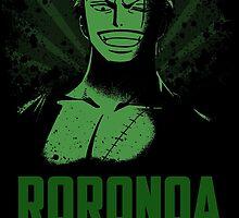 Roronoa Zoro by Dattebakun