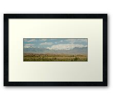 Karakoram Highway Framed Print
