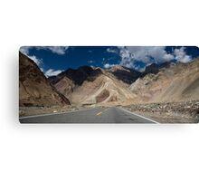 Karakoram Highway Canvas Print