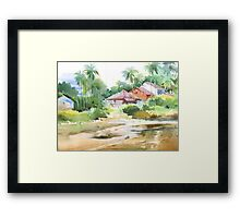 By the creek 1 Framed Print