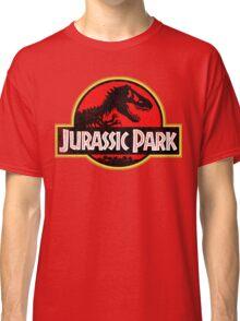 Jurassic Park Logo Grunge Classic T-Shirt