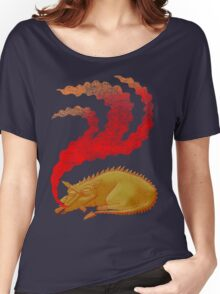 Snoring Dragon Women's Relaxed Fit T-Shirt
