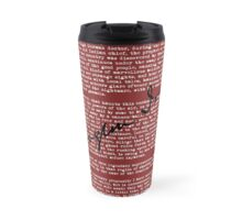 Sleepy Hollow - Red Travel Mug