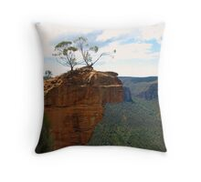 Hanging Rock, Blackheath Throw Pillow