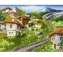 Somewhere in the Rhodopes Photographic Print