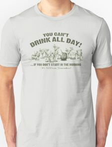 Funny Drink All Day T-Shirt