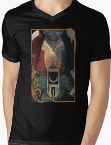 Varric Card Mens V-Neck T-Shirt