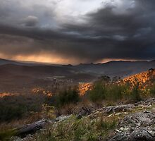 Storm from Keppels lookout Winter 2008 by Vicki Moritz