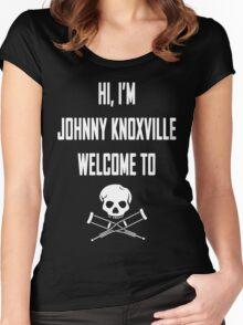 Jackass Women's Fitted Scoop T-Shirt