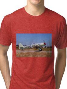 Hawker Sea Fury FB MK II Tri-blend T-Shirt