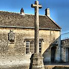 Stone cross by davesphotographics