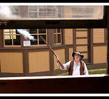 Cowboys & Trains Metamora July 11 2011 #1 by Oscar Salinas