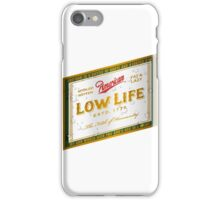 American Low Life Beer Label iPhone Case/Skin