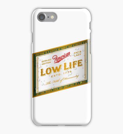 American Low Life Beer Label iPhone Case/Skin
