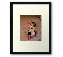 Not Happy Framed Print