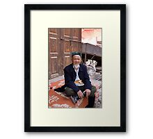 Sitting Around Framed Print