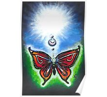 Butterfly and Key ~By Torrie Nightingale Poster