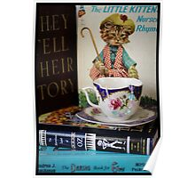 Children's Books and Tea Poster