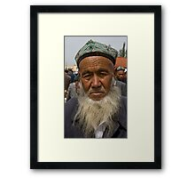 Great Beard Framed Print