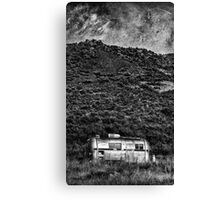 COLD NIGHTS UNDER THE MILKY WAY Canvas Print