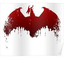 Dragon II Grunge Poster
