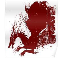 Dragon Grunge Poster