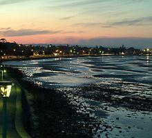 Shorncliffe at dusk by imagekinesis