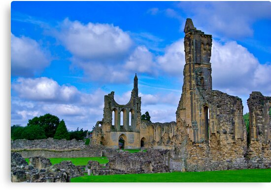 Byland Abbey by Trevor Kersley