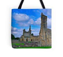 Byland Abbey Tote Bag