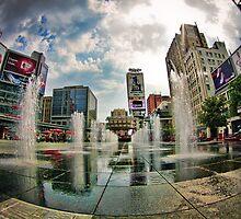 Urban Fountain by Elisabeth Ansley