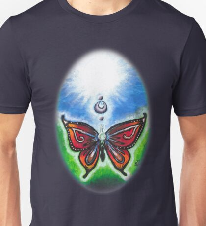 Butterfly and Key ~By Torrie Nightingale Unisex T-Shirt