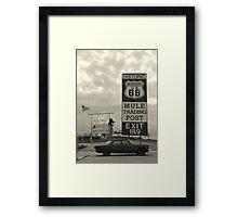 Missouri Route 66 Framed Print
