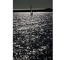Wind Surfing - West Kirby Marine Lake  Photographic Print
