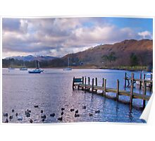 Lake Windermere Poster