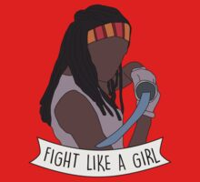 Fight like Michonne Kids Tee