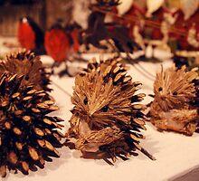 Winter Hedgehogs by JDWasabi