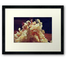 Japanese Tempura Framed Print