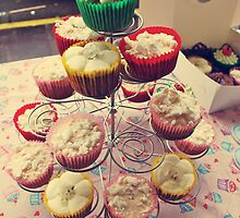 Lady Muck's Cupcakes Stall by JDWasabi