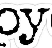 Tpyo Sticker