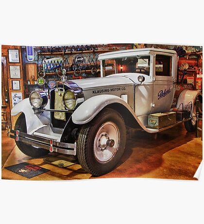 1928 Packard Tow Truck Poster