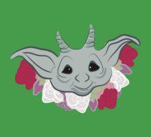 Goblin Flowers One Piece - Short Sleeve