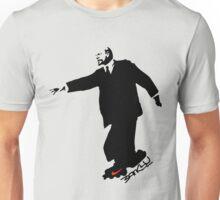 Banksy's Lenin on Rollerskate Unisex T-Shirt