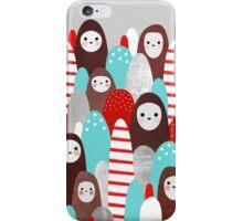 Gingerbread Spirits iPhone Case/Skin